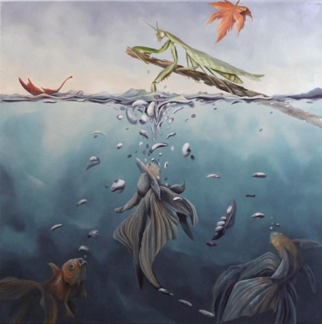 Mantis, 24 x 24