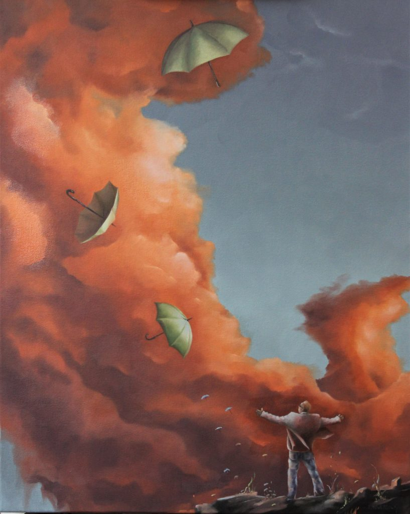 Steve Bowersock - Calling Out Angels, 30 x 24